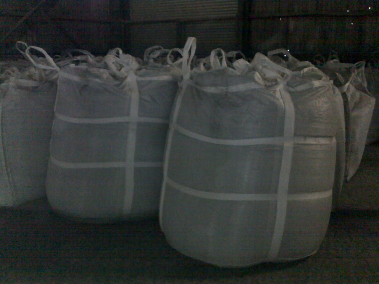 Bagged Cement In Sling Bag